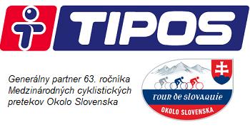 Tipos - Generálny partner Okolo Slovenska