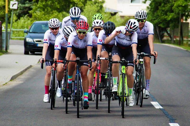 Reprezentačné sústredenie majú za sebou aj ženské kategórie cestných cyklistiek