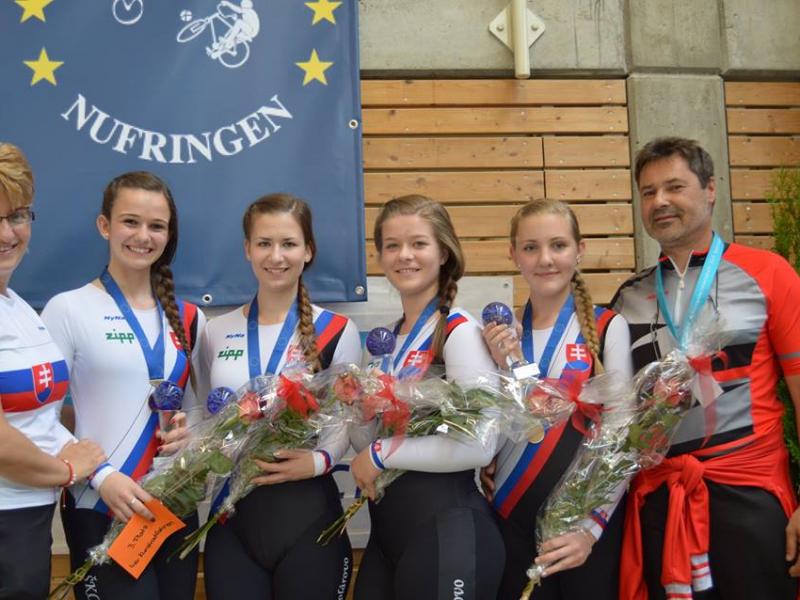 Majstrovstvá Európy juniorov v sálovej cyklistike 2015