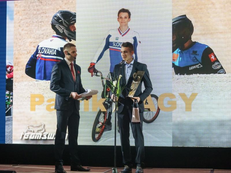Predstavujeme Patrika Nagya, víťaza kategórie BMX v rámci ankety Zlatý pedál 2017