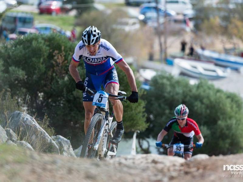 Horskí cyklisti bojovali v Grécku o body do olympijskej kvalifikácie