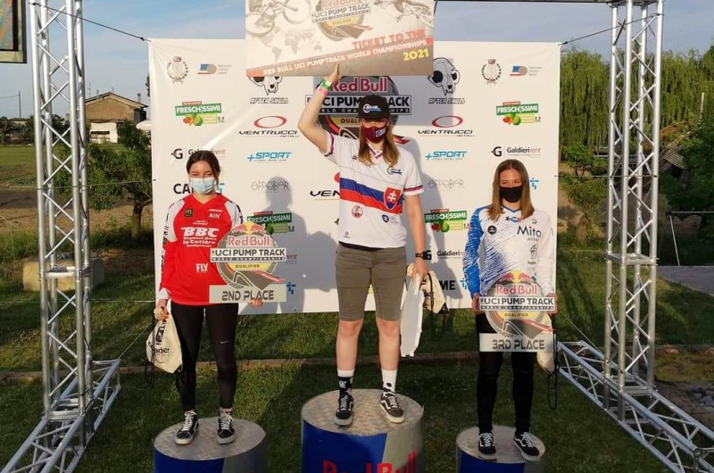 Kristína Madarásová zvíťazila v kvalifikačných pretekoch majstrovstiev sveta v pumptracku