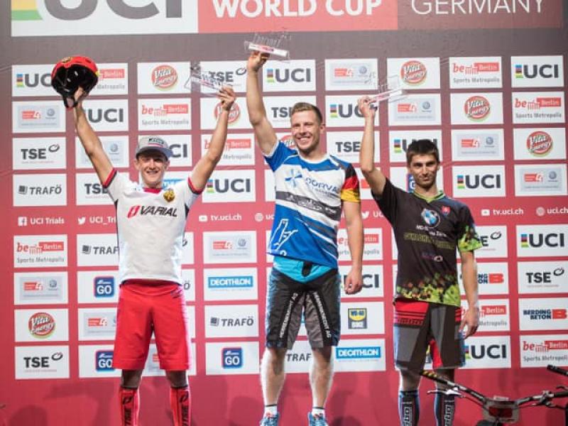 Trial: Na svetovom pohári v Berlíne vybojoval Samuel Hlavatý 3. miesto