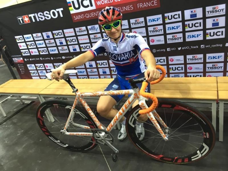 Alžbeta Bačíková získala prvé body do olympijského rankingu v omniu.