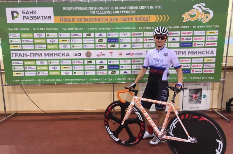 Na dráhe v Minsku vybojovala Bačíková druhé miesto v scratchi