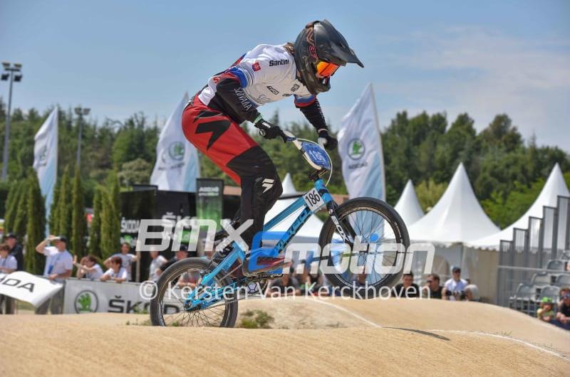 BMX: Kristína Madarásová vyhrala obe kolá Európskeho pohára vo Francúzsku