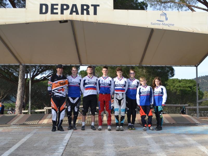 Tréningové sústredenie reprezentácie BMX a jazdcov CTM BMX v Sainte Maxime
