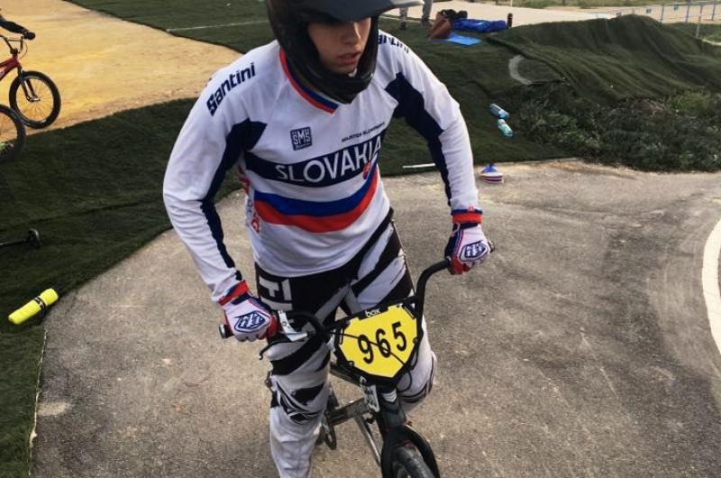 BMX: Na pretekoch v Španielsku finišoval Danihel na 4. mieste