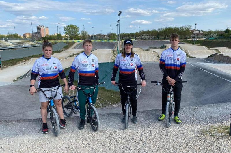 Reprezentanti BMX odštartovali sezónu vo Verone
