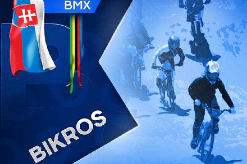 Tretie kolo EP BMX víťazne pre Slovenku Madarásovú, pódium vybojoval Čillík