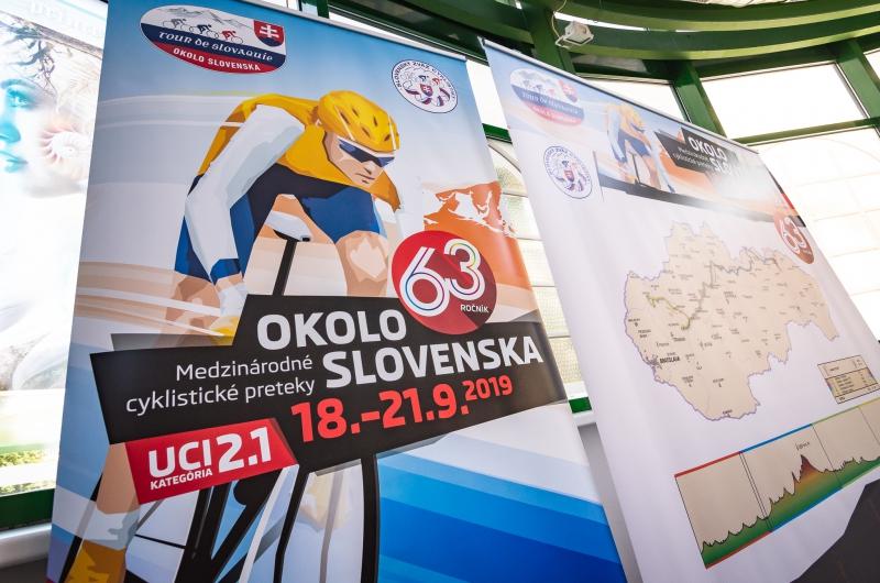 63. ročník pretekov Okolo Slovenska už klope na dvere