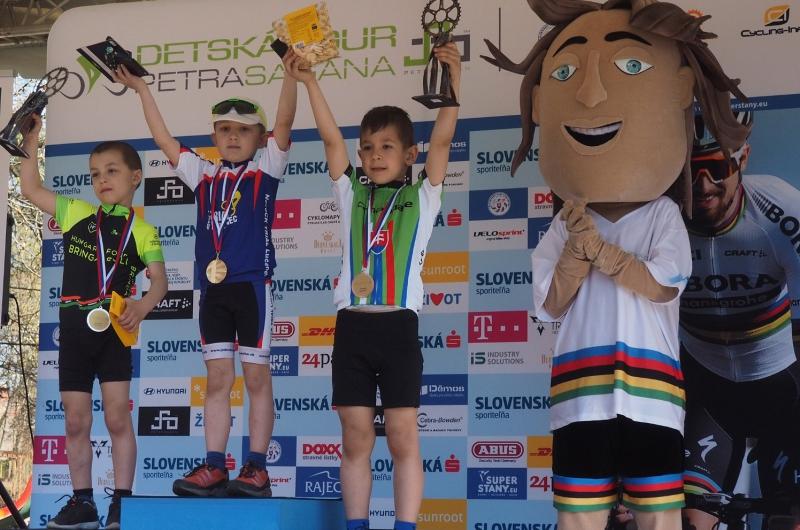 Už tento víkend odštartuje v Rimavskej Sobote Detská Tour Petra Sagana