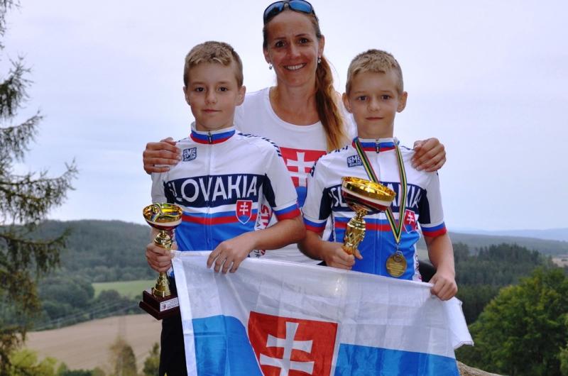 Mladí trialisti sa z MS v biketriale vracajú s majstrovským titulom i tretím miestom