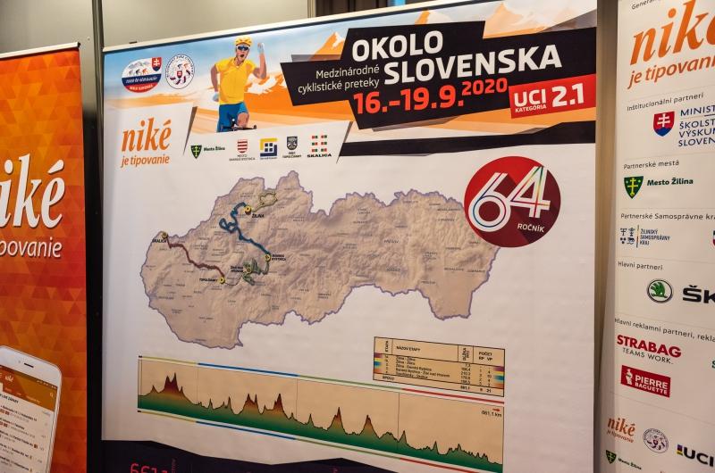 Predstavili sme 64. ročník Okolo Slovenska so šiestimi World tímami aj novým generálnym partnerom