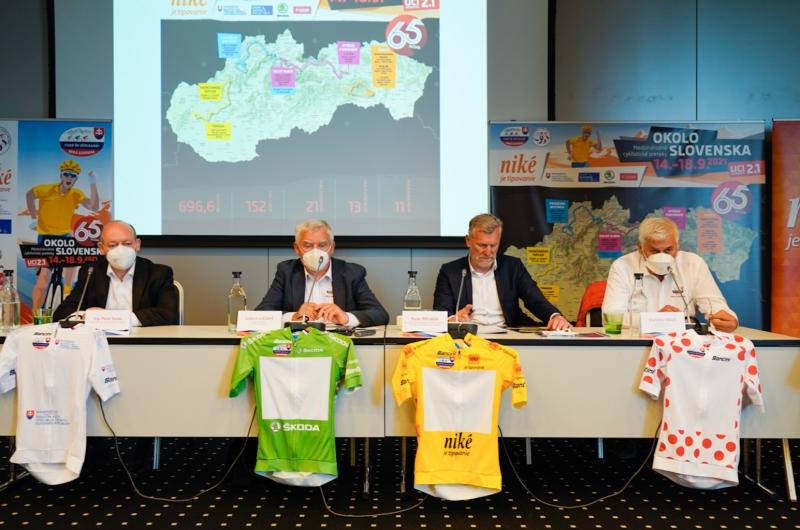65. ročník pretekov Okolo Slovenska prevedie svetový pelotón od východu až po západ krajiny