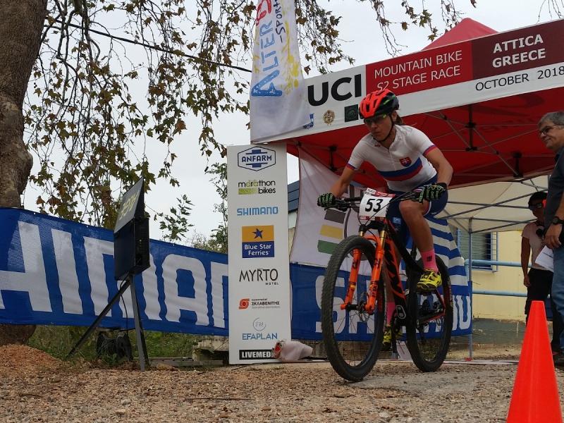 MTB: Naši horskí cyklisti bodovali v Grécku