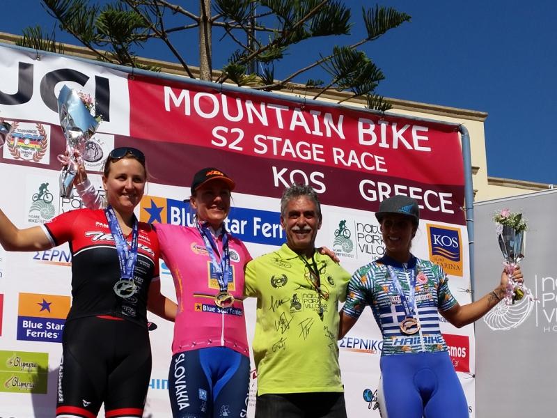 Janka Keseg Števková zvíťazila na etapových pretekoch v Grécku