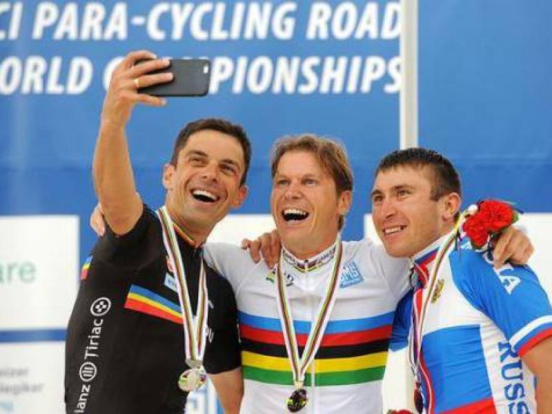 Patrik Kuril s titulom majstra sveta v paracyklistike