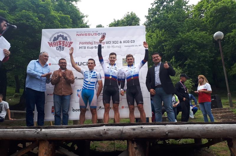 Jakub Kurty zvíťazil na pretekoch v srbskom Niši, Ondrej Glajza bral 3. miesto