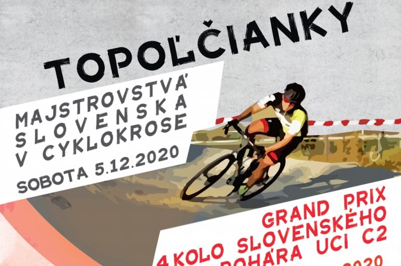 Informácie k CX pretekom v Topoľčiankach (Majstrovstvá Slovenska 5.12.2020)