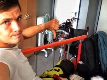Slovák Rasťo Baránek: O svojom víťazstve v pretekoch Európskeho pohára sa dozvedel v sanitke