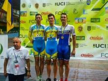 Z Ukrajiny si dráhari prinášajú 374 bodov UCI