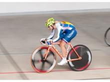 Pódium a 180 bodov UCI pre dráharku Alžbetu Pavlendovú