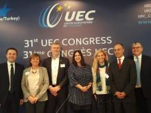 Prezidentom UEC Rocco Cattaneo, Peter Privara oficiálne uvedený do funkcie prezidenta komisie pre cyklokros