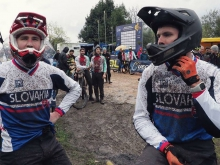 Downhill: Rasťo Baránek v top 20 na majstrovstvách Európy