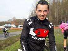 Barényi Milan a Šichtová Martina v českom Tábore na Majstrovstvách Európy v cyklokrose na strieborných stupňoch pre víťazov