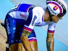 V pretekoch svetového pohára si Filip Taragel vybojoval desiate miesto v scratchi aj miestenku na MS