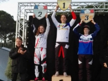 V rámci prípravy na novú sezónu si Kristína Maradásová vyjazdila 3. miesto v 1. kole Francúzskeho pohára