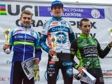 Víťazmi poslednej UCI C2ky v Topoľčiankach Belgičan Rombouts a Češka Czeczinkarová